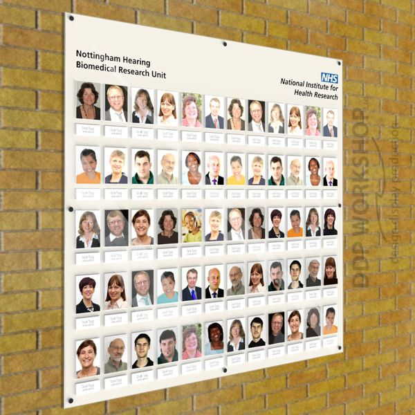 Staff Photo boards for Business & Schools