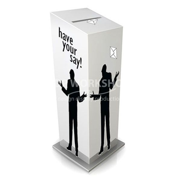 Floor Standing Collection Box - Foamex