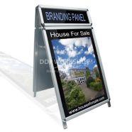 Snap Frame Branding pavement Sign