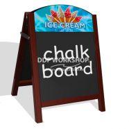 Premier Pavement Chalk Board