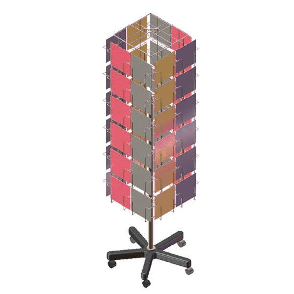 Card Spinner Floor Standing - wire