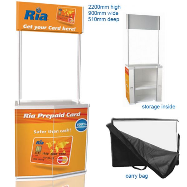High Visibility Promotional Stand