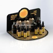 Cosmetic Display Counter Merchandiser