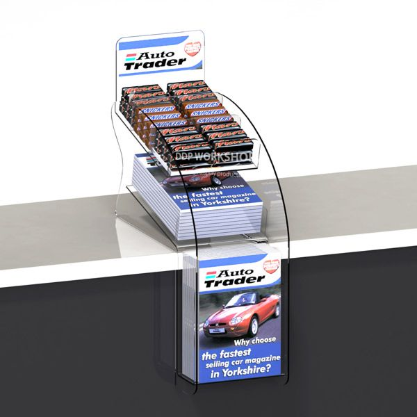 The Teardrop Confectionery Media Counter Display Counter