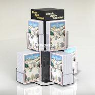 Rocket Acrylic Card Spinner Counter Top