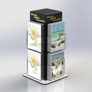 Tower Acrylic Card Spinner Counter Top