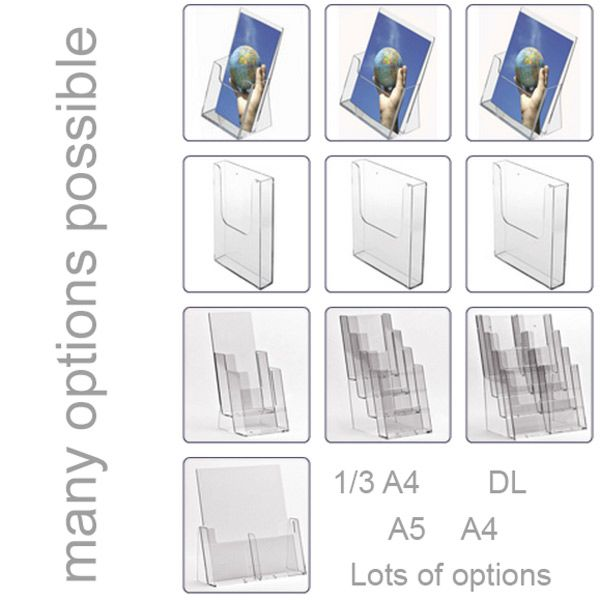 Acrylic Leaflet Displays