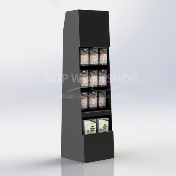 Floor Standing Cardboard Display- Eurohook Merchandiser