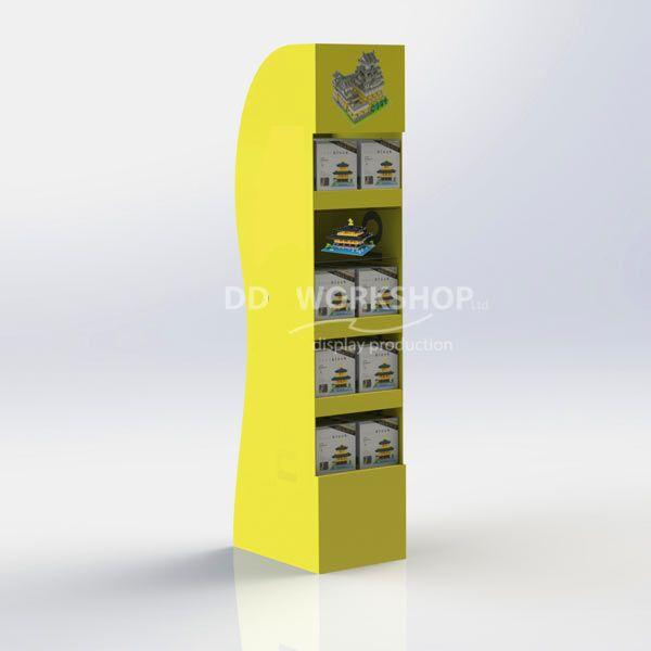 Cardboard FSU with Showcase