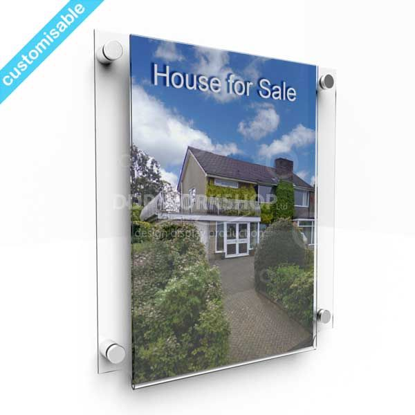 Wall Mounted Frame - Floating