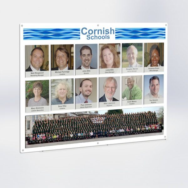 Staff Photoboard Picture Combo