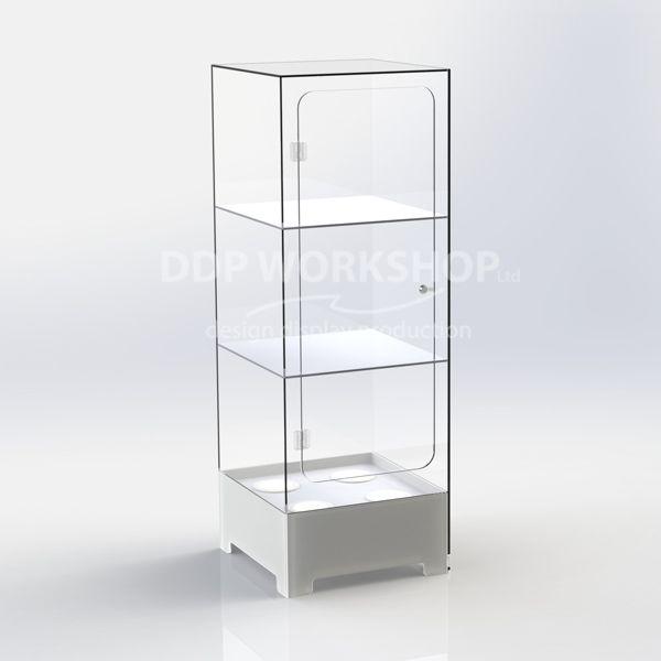 Elegance 3 Shelf Illuminated Display Case
