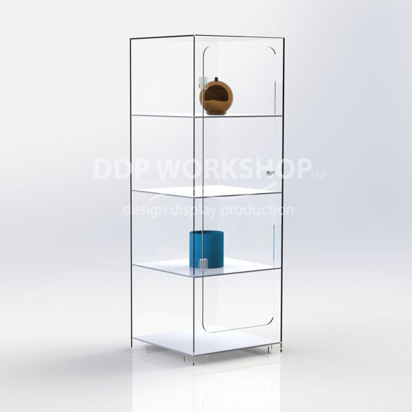 Ellie 4 Shelf Display Case