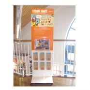 Samson Display Case and Information Display Board