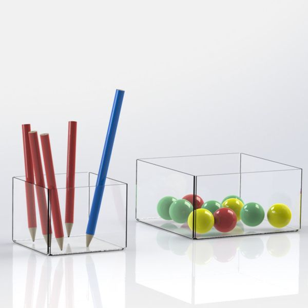 Clear Perspex Tray