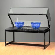 Table display case TGV-1000-250-Black