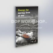 Frameless Poster Frame - Clear Acrylic