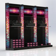 Multimedia Product Wall Display