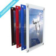 Easy Access Coloured Acrylic Frame