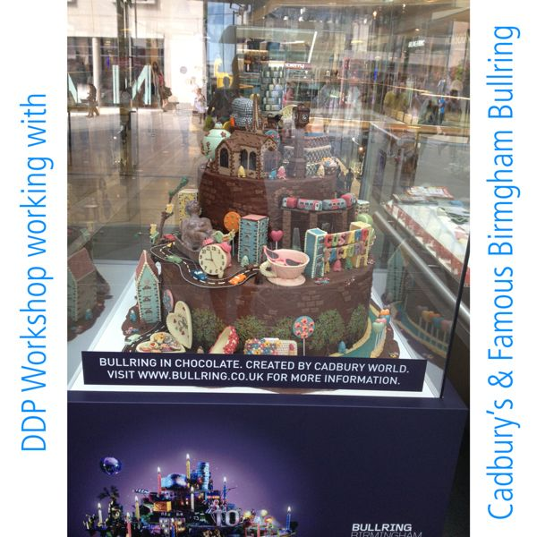 DDP Display Innovation for Cadbury's in the Famous Bullring.