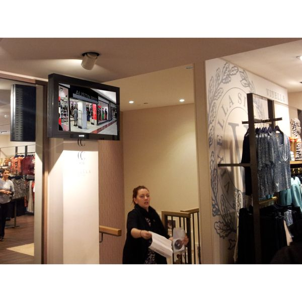 Austin Reed Digital Display Clients Multimedia Displays Screens