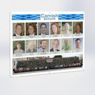 Staff Photoboard Picture Combo Display