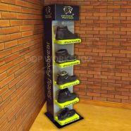Boot Display Floor Standing Unit