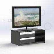 2 Shelf TV Display Plinth