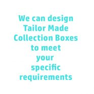 Tailor made collection box