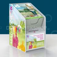 Table Top Collection Box and Magazine Holder
