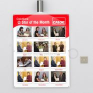 Employee of the Month Staff Board