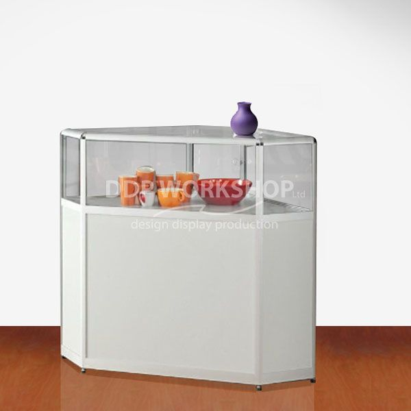 Corner counter display cabinet 862 60-Tech