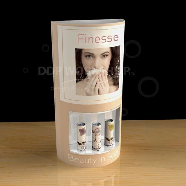 Perfume Stand Curved