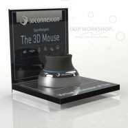 Counter Top Display Plinth - with Acrylic Graphics Trap