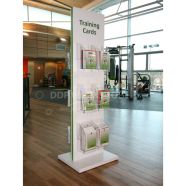 Floor Standing Double Sided Leaflet Display