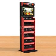 6 Shelf Multimedia Display Stand