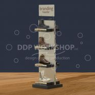 Boot Display Stand Merchandising Unit
