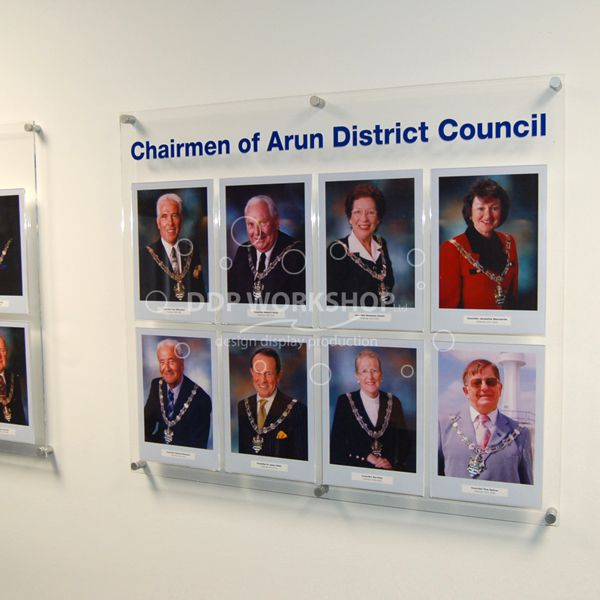 A4 Members Staff Board