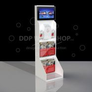 Digital Display Stand Media and Collection Combo