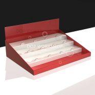 4 Step Counter Display Merchandiser with Shelf Riser
