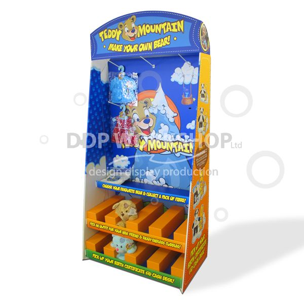 Teddy Cardboard Display Stand Cardboard Displays Extraordinary Cardboard Display Stands Uk