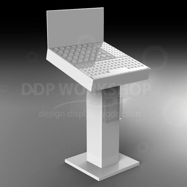 Cosmetic Floor Standing Plinth Display