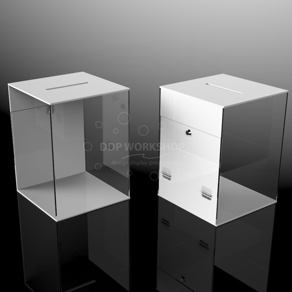 Two Tone Lockable Ballot Box