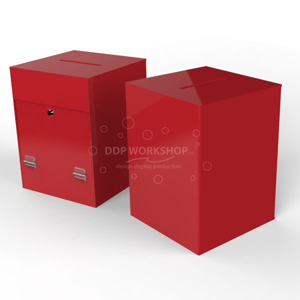 Red Ballot Box