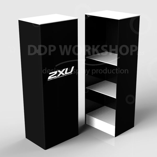 Display Plinth with Shelves