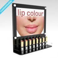 Wall mounted lipstick frame display