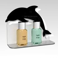 Wall Mounted Dolphin Toiletries Display