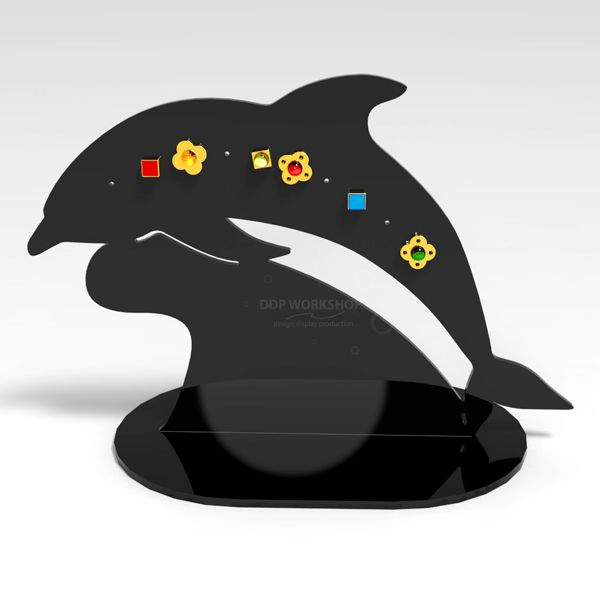 Dolphin Earring Stand