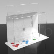 Quad Token Collection Box Table Top