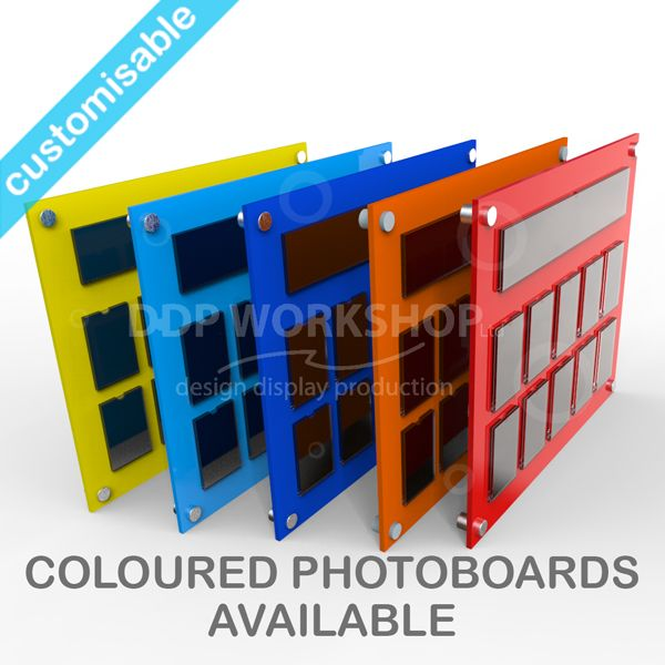 ddp coloured photoboards